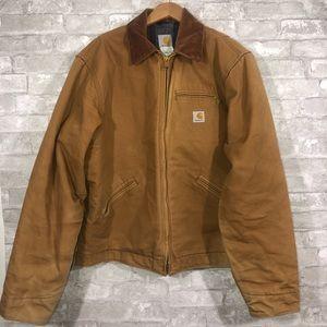 Carhartt J01 - Duck Detroit Jacket Blanket Lined